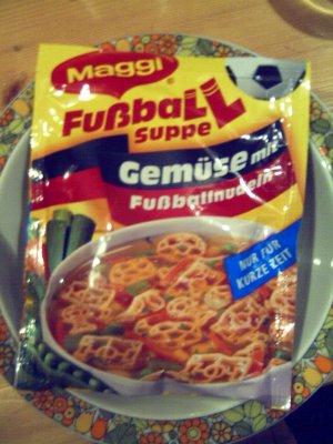 Maggi Fussball-Tütensuppe