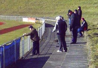 Lüdinghauser Fans beim Spiel in Recklinghausen