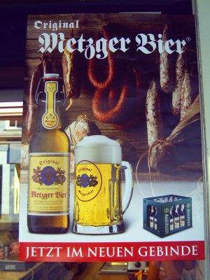 Plakat für Original Metzgerbier