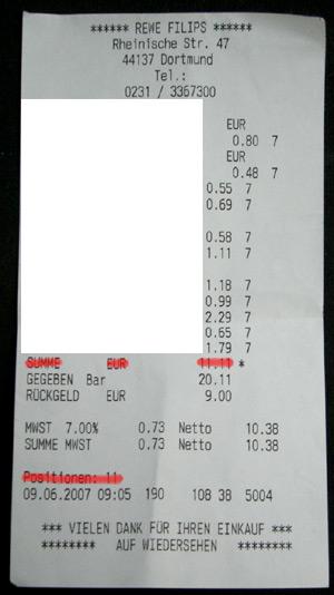 11 Elemente - 11,11 EUR