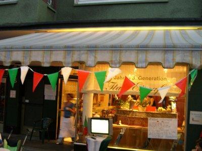 Eiscafé an der Lindemannstrasse