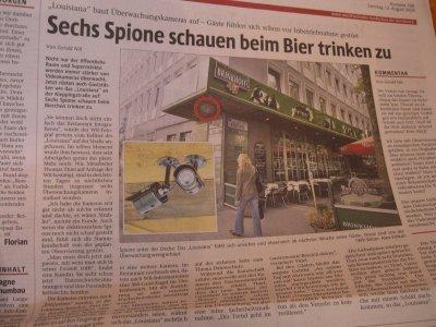 Zeitungsartikel der Westfälischen Rundschau vom 12.08.06