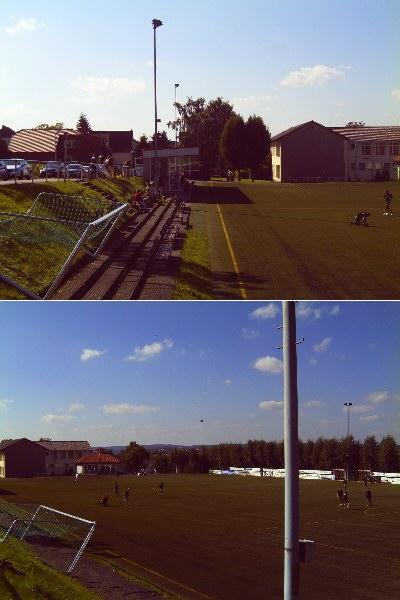 Stadionimpressionen von RW Erlinghausen