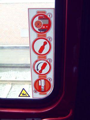 Ausstiegshilfe der Deutschen Bahn