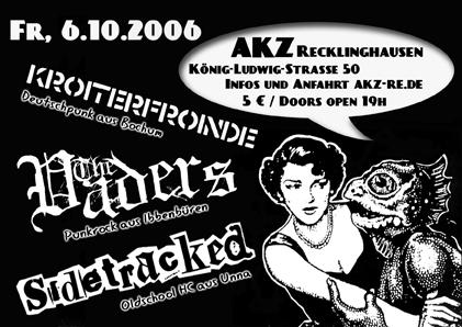 Flyer für das Konzert am 06.10.