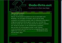 Screenshot oede-orte.net