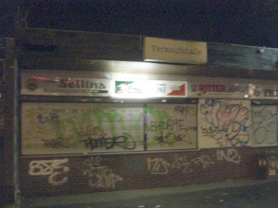 Die besagte - geschlossene - Trinkhalle in Husen