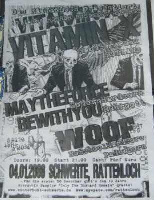 Konzertplakat 04.01.2008