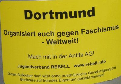 Sticker von rebell