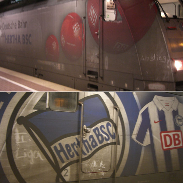 Hertha-Abstiegslok 2009