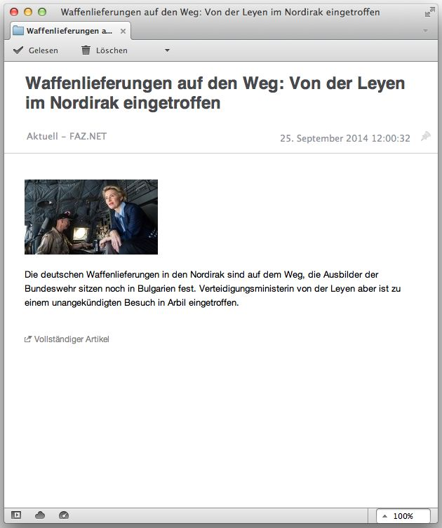 Screenshot faz-Feed